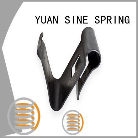 available bent wire shape with a variety of materials for hanger