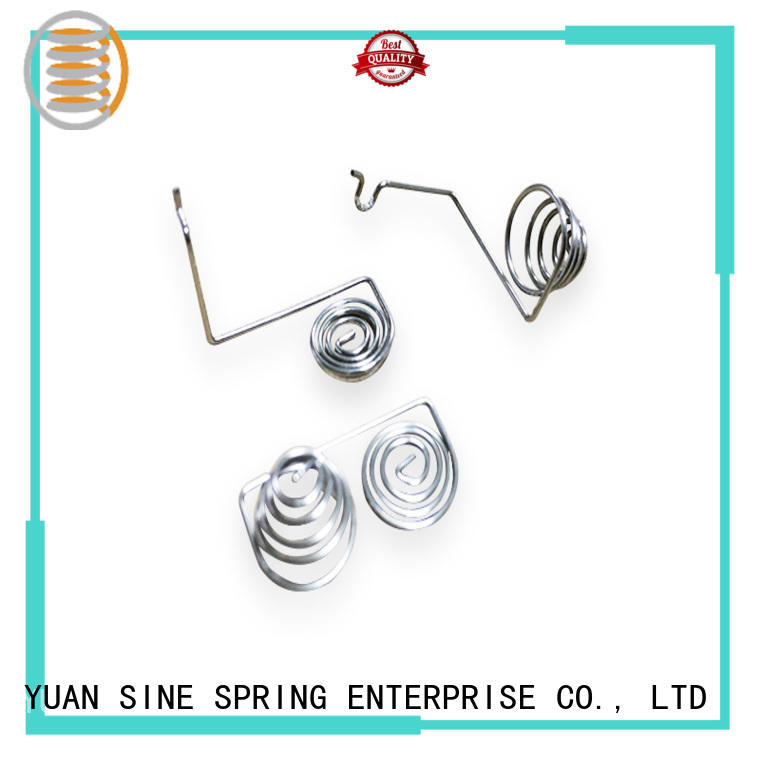 YUAN SINE SPRING carbon wire form spring hanger for outdoor equipment accessories