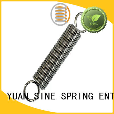 YUAN SINE SPRING whiteblack small tension springs manufacturers for blood pressure device tester