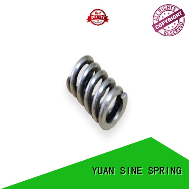 YUAN SINE SPRING instrument heavy duty compression springs manufacturers for pressure pump
