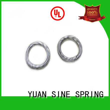 YUAN SINE SPRING Custom small compression springs Supply for motor vehicles