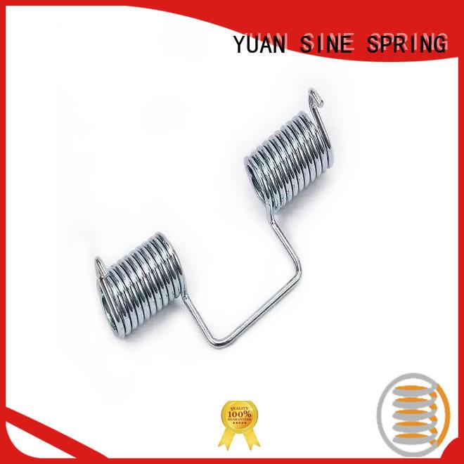 YUAN SINE SPRING quality torsion spring vs extension spring tension
