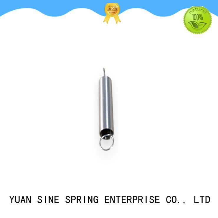gold extension springs made for precondition for ATM machine YUAN SINE SPRING
