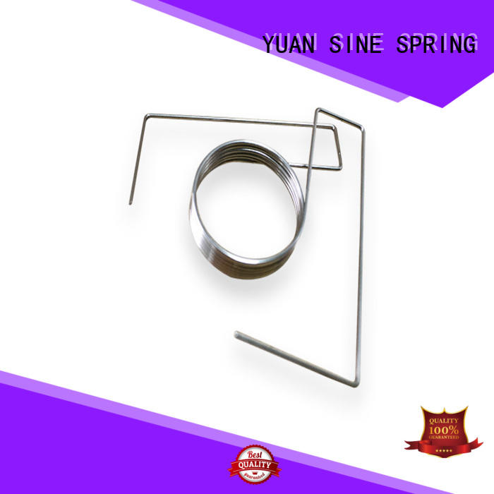 YUAN SINE SPRING made bent wire with a variety of materials for ear sets