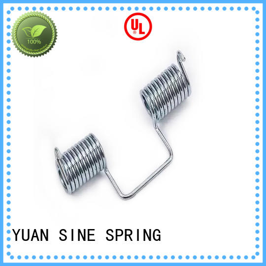 YUAN SINE SPRING spectacle custom torsion springs supplier for glasses and spectacle frame