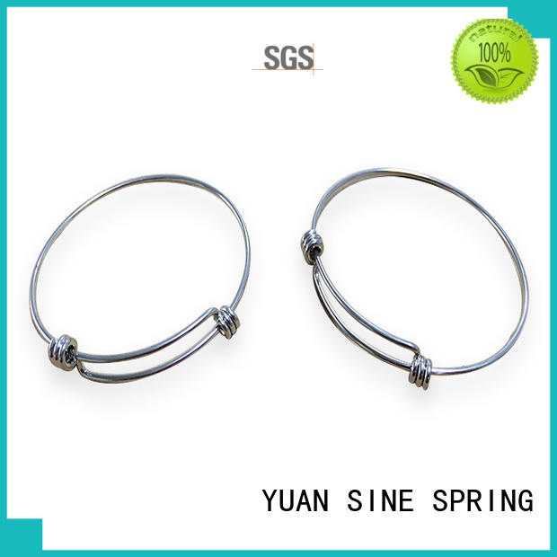 YUAN SINE SPRING decorative bent wire supplier for outdoor equipment accessories