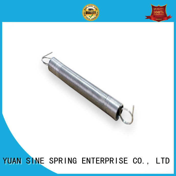 YUAN SINE SPRING precision heavy duty extension springs manufacturer for ATM machine