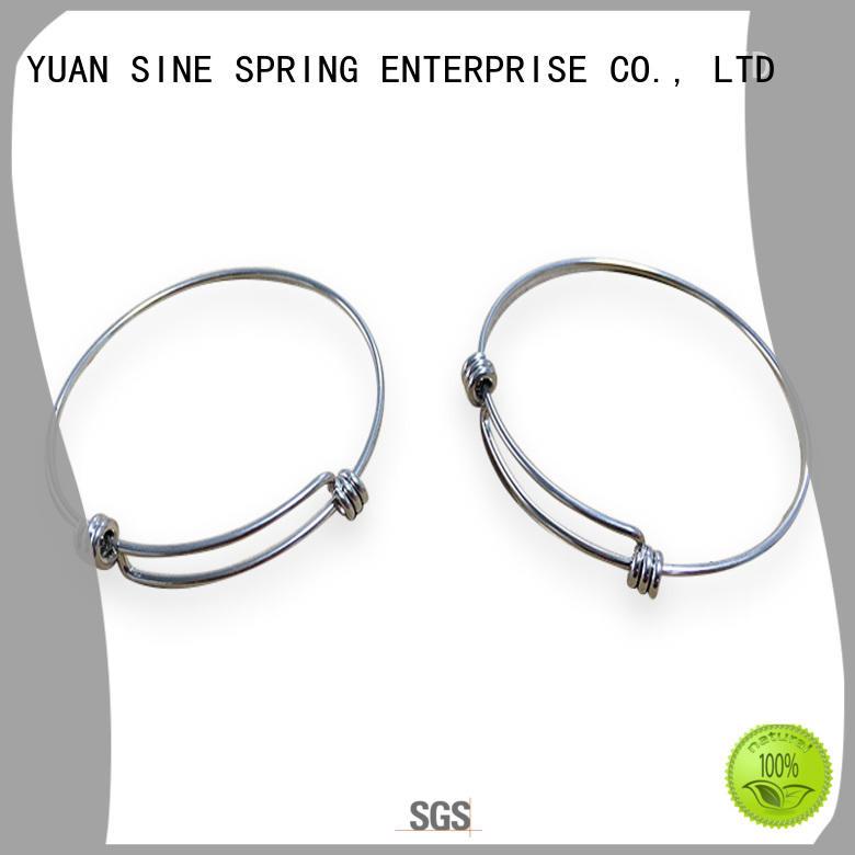 YUAN SINE SPRING Brand shape bracelet spring wire manufacture