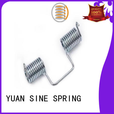 YUAN SINE SPRING double double torsion spring factory for glasses and spectacle frame