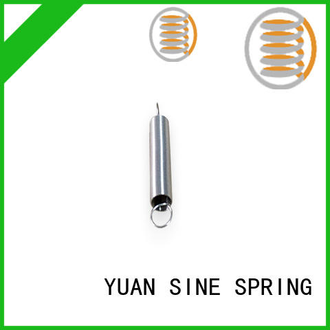 YUAN SINE SPRING identified small extension springs supplier for blood pressure device tester