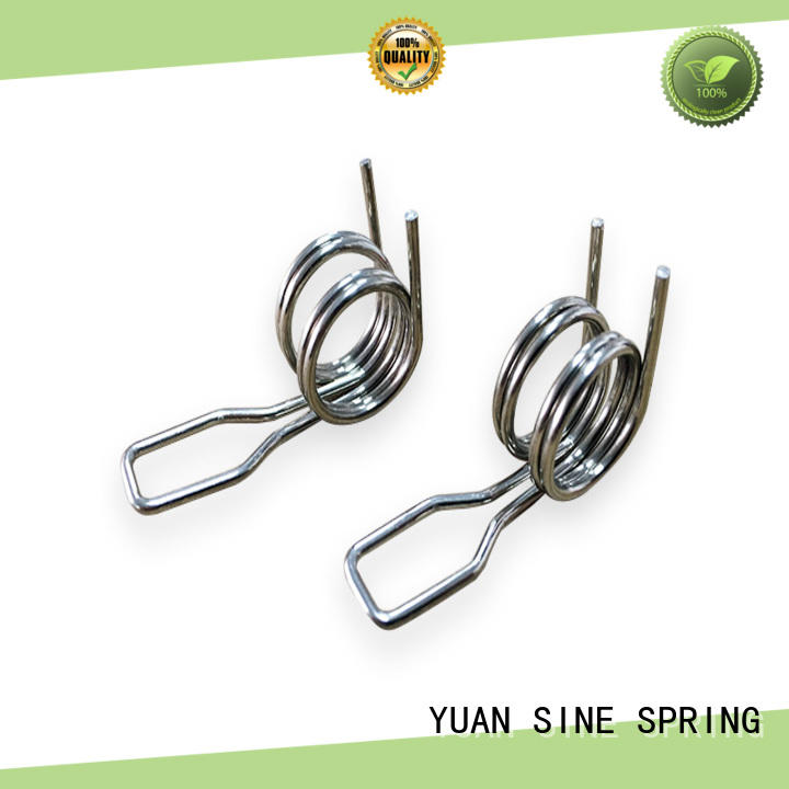 YUAN SINE SPRING wheel double torsion springs suppliers wholesale for glasses and spectacle frame
