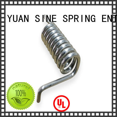 custom spiral torsion spring tension with different shape for glasses and spectacle frame