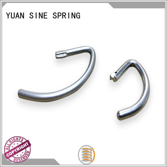 YUAN SINE SPRING customers wire form series for ear sets