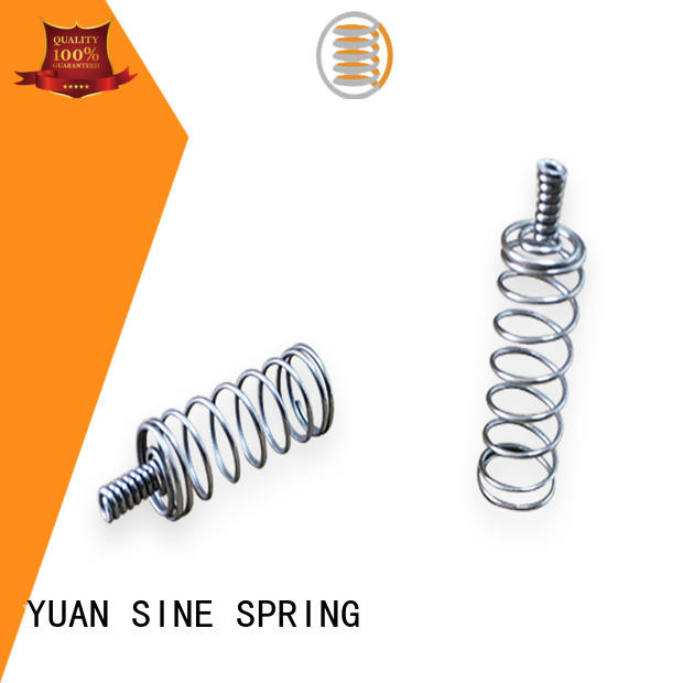 YUAN SINE SPRING wire long compression springs company for the national defence industry
