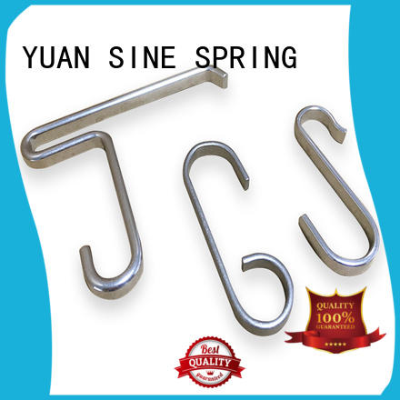 carbon custom wire forming supplier for house wares components YUAN SINE SPRING