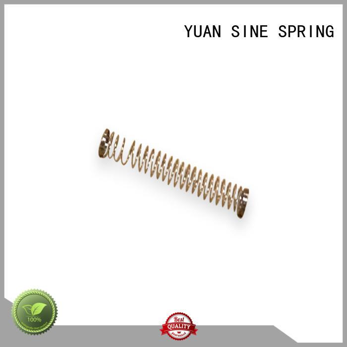 YUAN SINE SPRING online steel compression spring manufacturer for toys