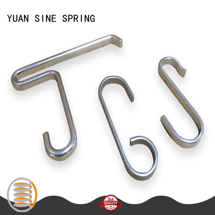 YUAN SINE SPRING tube wire shapes manufacturers for house wares components