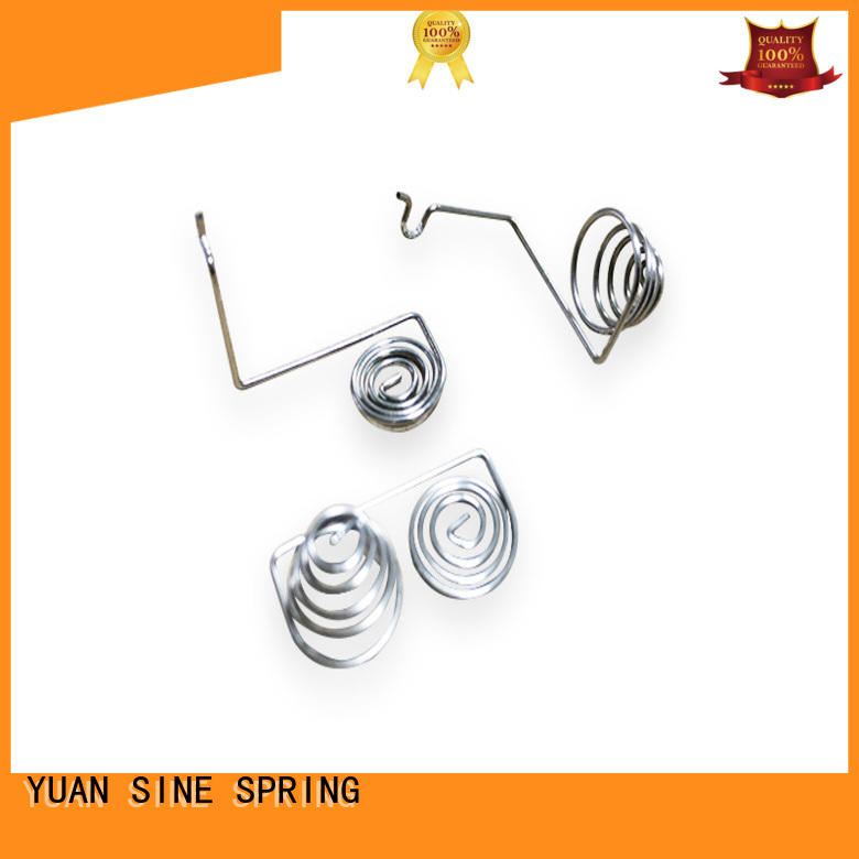 wire form spring decorative for ear sets YUAN SINE SPRING