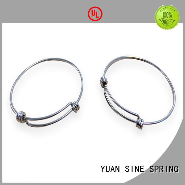YUAN SINE SPRING customers bent wire with a variety of materials for hanger