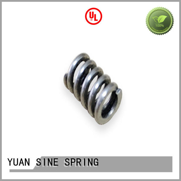 YUAN SINE SPRING medical large compression springs supplier for motor vehicles