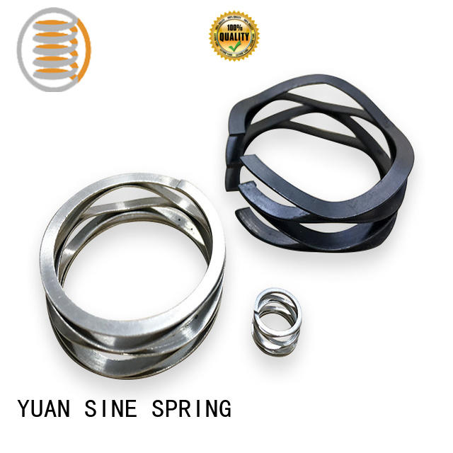 YUAN SINE SPRING steel wave spring manufacturers with different shape for guitar