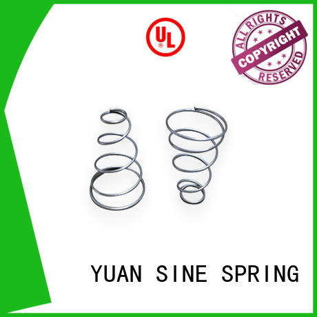 form compression spring standards inspection for toys YUAN SINE SPRING