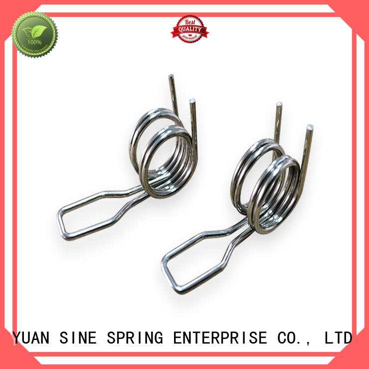 YUAN SINE SPRING hyperthermy double torsion springs suppliers manufacturers for glasses and spectacle frame