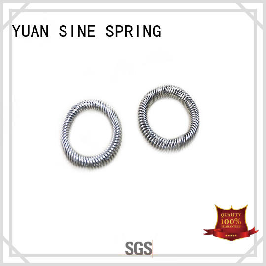 YUAN SINE SPRING measuring types of compression springs manufacturers for hardware tools