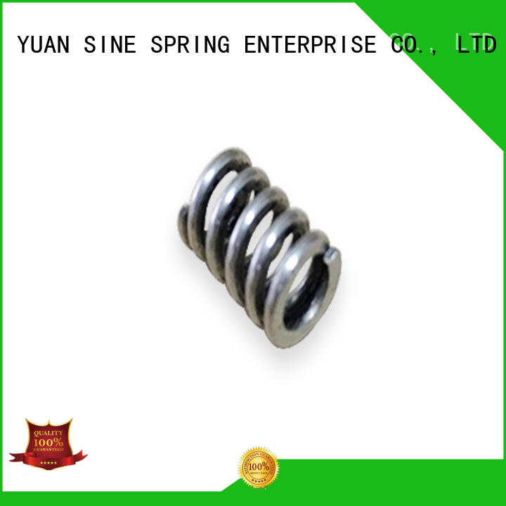 types seal steel OEM compress spring YUAN SINE SPRING