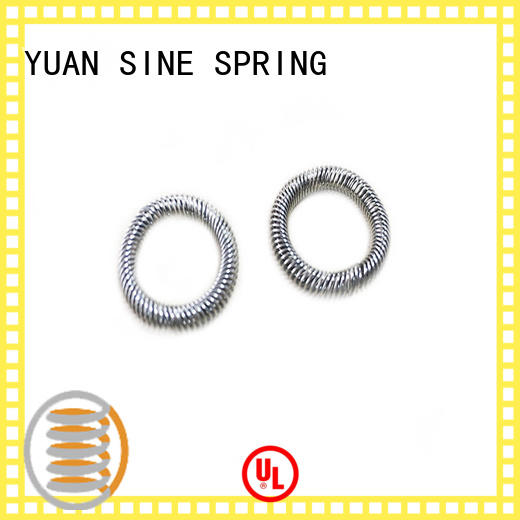 YUAN SINE SPRING Wholesale precise compression springs manufacturers for the national defence industry