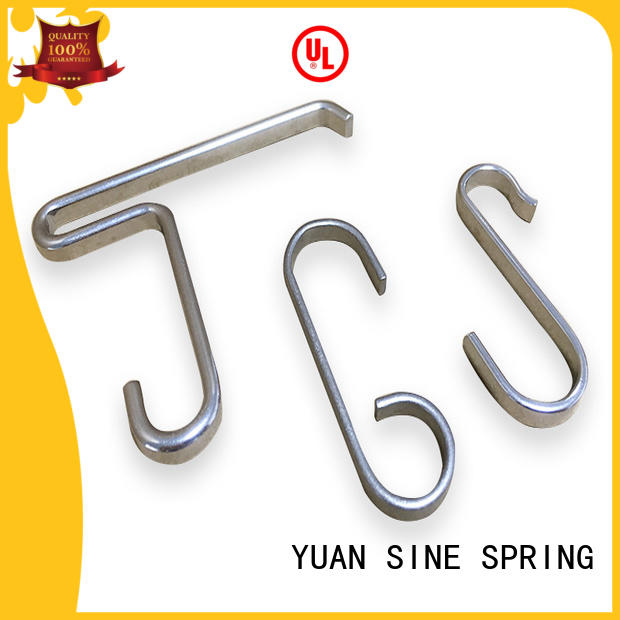 YUAN SINE SPRING shape hollow tube wire form wholesale for ear sets