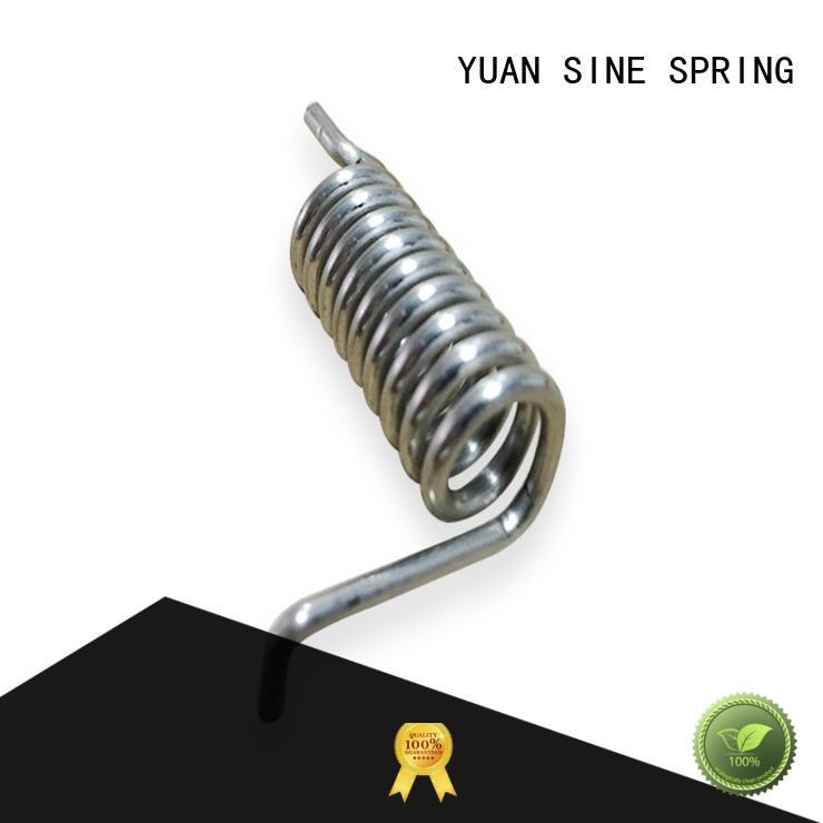 Hot steel custom torsion springs wire glasses YUAN SINE SPRING Brand