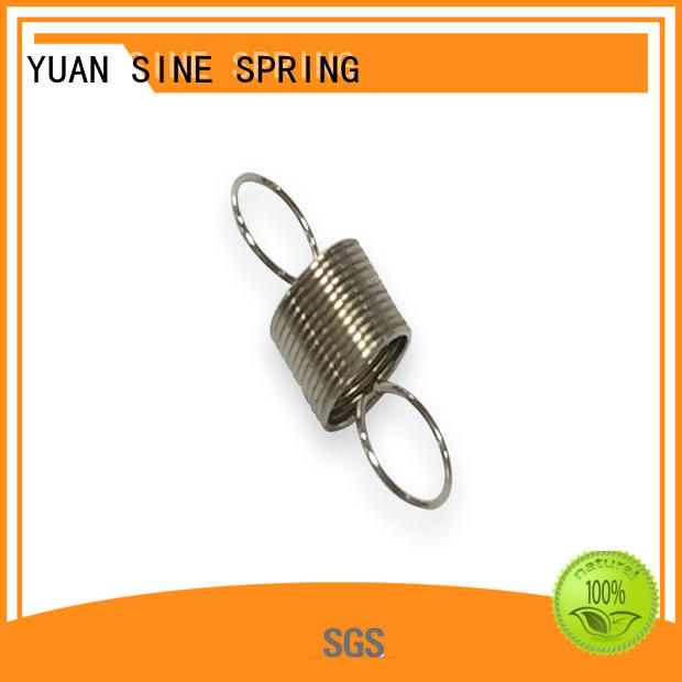 YUAN SINE SPRING Brand extension steel ends extension springs manufacture