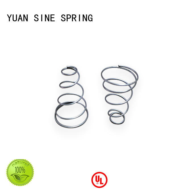 quality 2 inch diameter compression spring easy to grasp for the national defence industry YUAN SINE SPRING