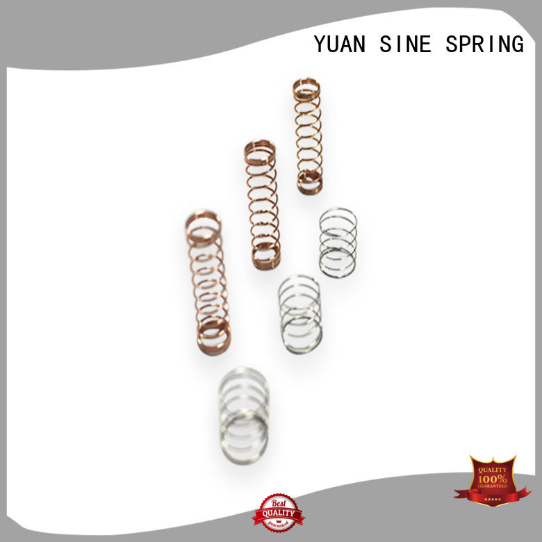 YUAN SINE SPRING industries types of compression springs for business for the national defence industry