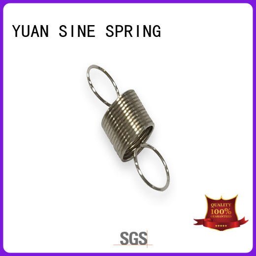 YUAN SINE SPRING passivates small extension springs manufacturers for blood pressure device tester